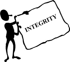 integrity soundness of moral character View essay - integrity from busi 201 201 at liberty university integrity is defined by dictionsarycom as adherence to moral and ethical principles soundness of moral character and honesty.